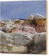 Calhan Paint Mines 2 Wood Print