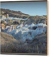 Calhan Paint Mines Landscape Wood Print