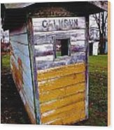 Calhoun Wood Print
