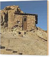 Calico Ghost Town Silver Mine In San Bernadino California Wood Print