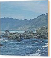 California Beaches 3 Wood Print