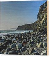 California - Big Sur 014 Wood Print by Lance Vaughn