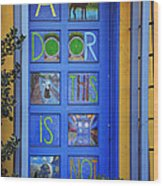 California Door Collection 3 Wood Print
