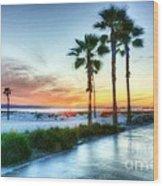 California Dreaming Wood Print by Mel Steinhauer