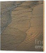 California Waves Wood Print