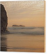 California Gold Wood Print