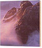 California Landscape Wood Print by Art Wolfe