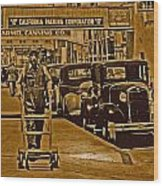California Packing Corporation Wood Print
