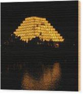California Pyramid Wood Print