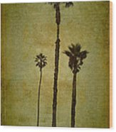 California Trees Wood Print