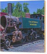 California Western Number 14 Wood Print