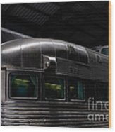 California Zephyr Wood Print by Andres LaBrada