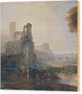 Caligula's Palace And Bridge Wood Print
