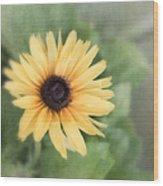 Call Me Mellow Yellow Wood Print