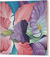 Call Of The Orchids Wood Print