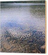 Callaghan Lake Stones Wood Print