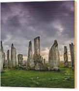 Callanish Stones Wood Print