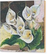 Callas Wood Print