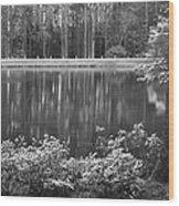 Callaway Garden Reflection Pond Wood Print