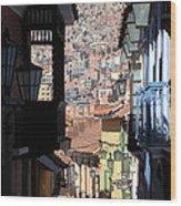 Calle Jaen La Paz Wood Print