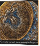 Called To Peace Wood Print