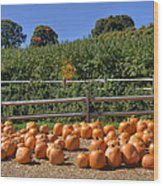 Calling Autumn Wood Print by Joann Vitali