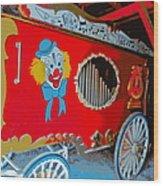 Calliope Wagon Wood Print