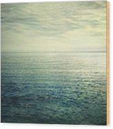 Calm At The Summer Sea Wood Print
