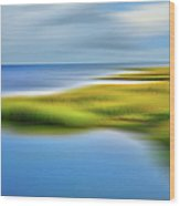 Calm Waters - A Tranquil Moments Landscape Wood Print