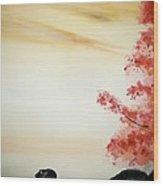 calm waters III Wood Print