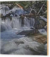 Calypso Cascades Wood Print by Tom Wilbert