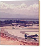 Cam Rahn Bay Airfield Wood Print
