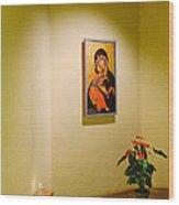 Camaldoli Monastery Prayer Room Wood Print