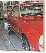 Camaro Ss Wood Print