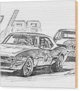 Camaro Z28 Trans Am Wood Print