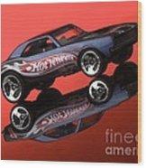 Camaro4-2 Wood Print