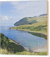 Camas Nan Geall Ardnamurchan Scotland Wood Print