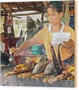 Cambodian Life 09 Wood Print