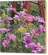 Cambria Garden 2 Wood Print