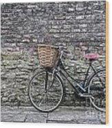 Cambridge Bike 3 Wood Print