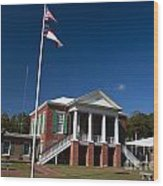 Camden County Courthouse Wood Print