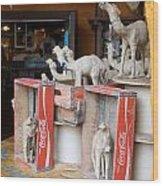Camel Cola Wood Print