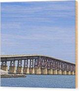 Camelback Bridge Wood Print