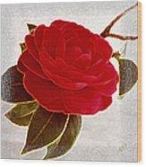 Camellia Spectacular Wood Print