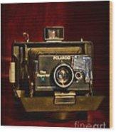Camera - Polaroid  The Reporter Se Wood Print