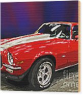 Camero Z28 Wood Print