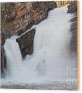 Cameron Falls Wood Print