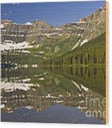 Cameron Lake Wood Print