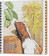 Cameroon Stamp Wood Print