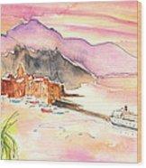 Camogli In Italy 06 Wood Print